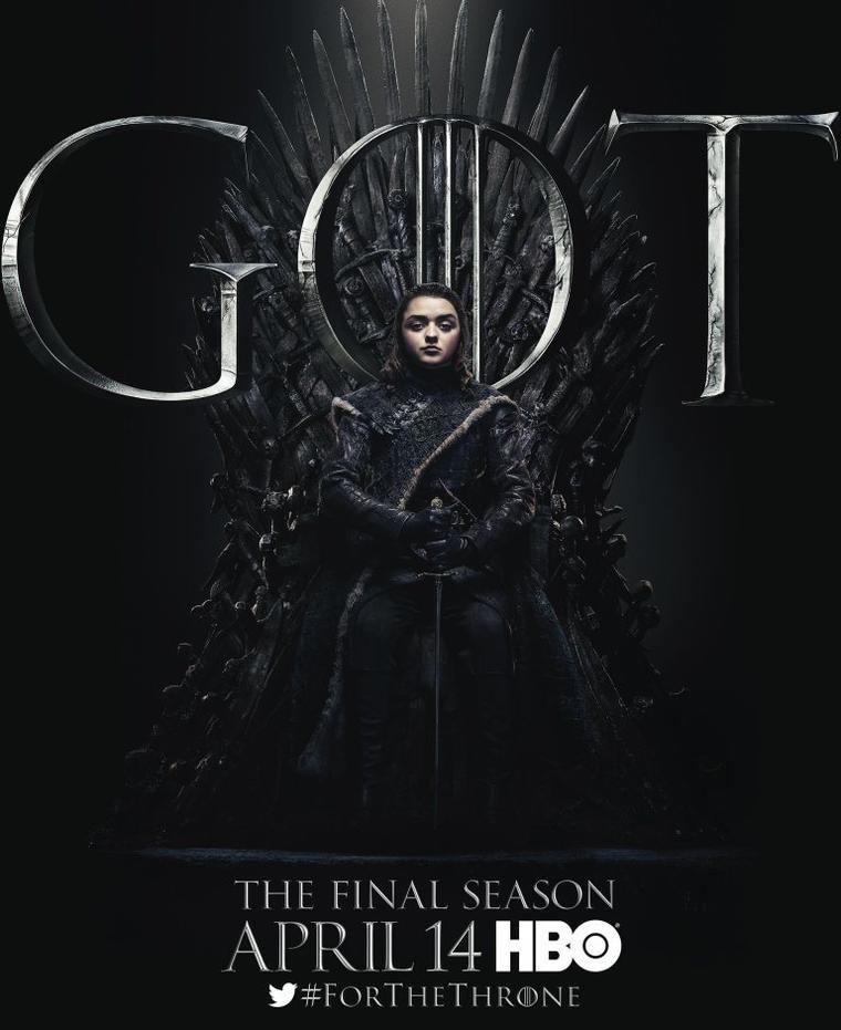 """Game of Thrones""-Staffel 8: Arya Stark"