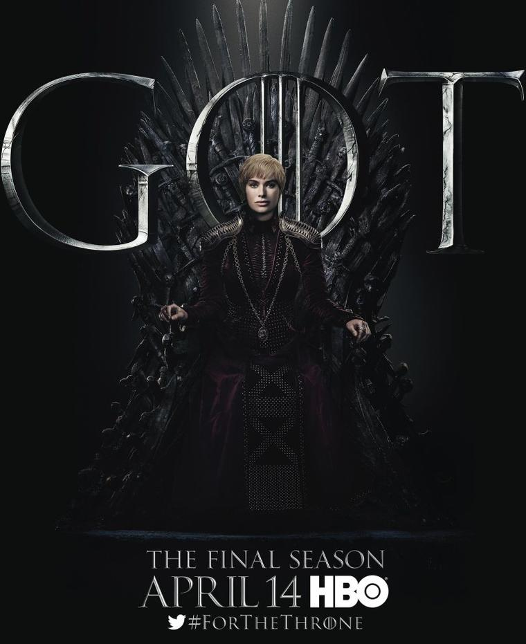 """Game of Thrones""-Staffel 8: Cersei Lannister"