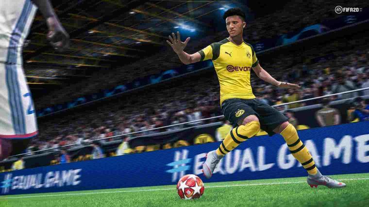 FIFA 20 Jadon Sancho
