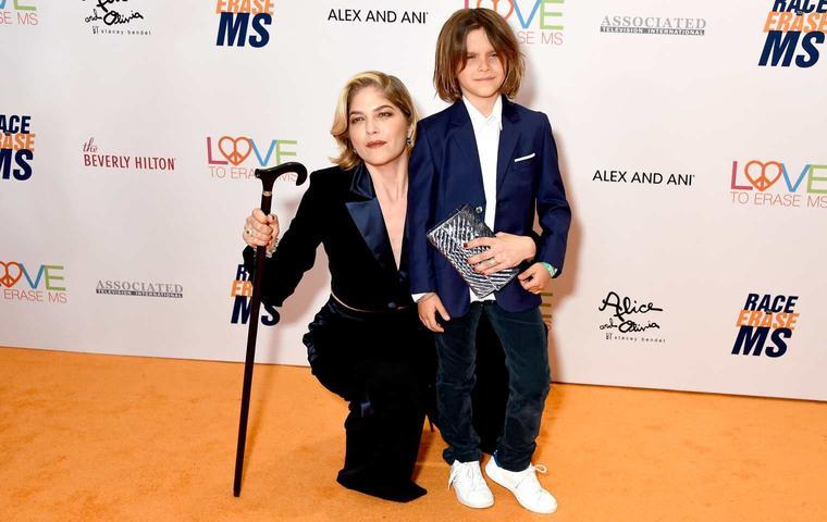 """""""Eiskalte Engel""""-Star Selma Blair und Arthur Saint Bleick im Mai 2019 auf der """"Race to Erase MS Gala"""" in Beverly Hills"""
