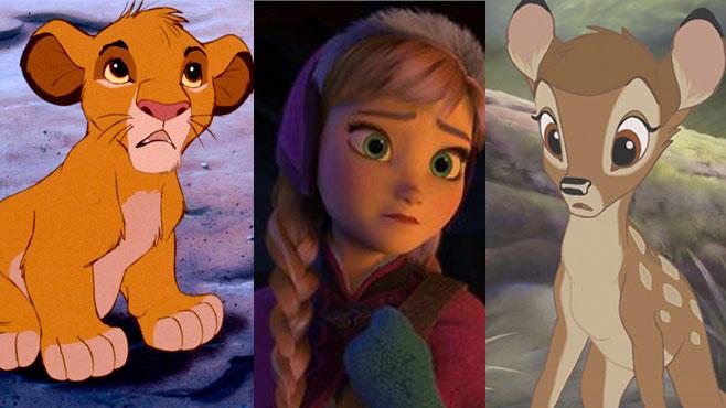 Viele Disney-Figuren verlieren einen, oder gar beide Elternteile. Ein Grund dafür ist, dass Walt Disney selbst seine Mutter verlor.