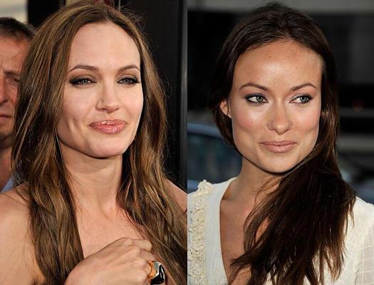 Angelina Jolie und Olivia Wilde