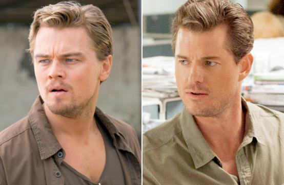 Leonardo DiCaprio und Eric Dane