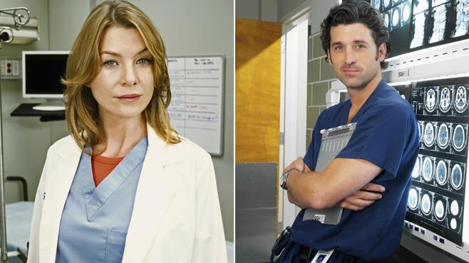 Ellen Pompeo, Patrick Dempsey, Grey's Anatomy