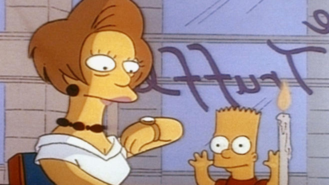 Die Simpsons Edna Krabappel