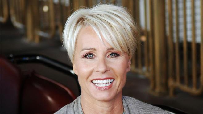 Sonja Zietlow lachen