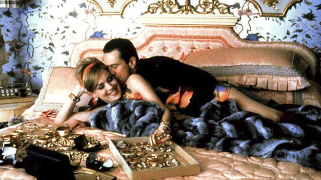 """Casino, 21.12., 23:40 Uhr, ZDF: Sam """"Ace"""" Rothstein (Robert de Niro) leitet in den frühen 70er für die Mafia das """"Tangiers""""-Casino in Las Vegas. Mit sexy Sharon Stone."""