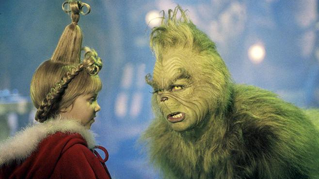 Der Grinch, 17.12., 20:15 Uhr, RTL II:Grüner Fiesling (Jim Carrey) will Weihnachten stehlen, wird aber bei seinem Raubzug beobachtet...