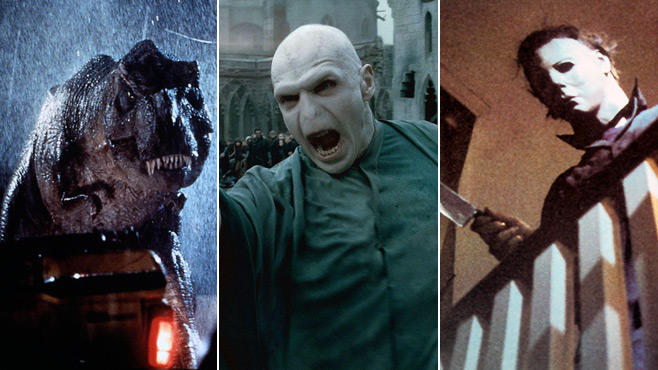 Jurassic Park, Harry Potter, Halloween