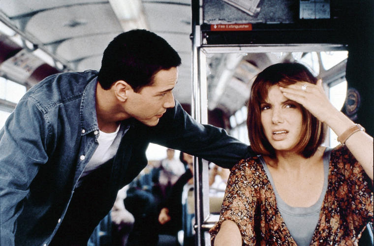 """Mensch, Keanu, das gibts doch nicht! In unserem Action-Thriller """"Speed"""" gibts 18"""