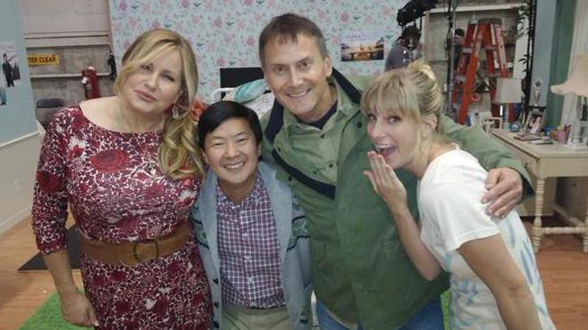 "Jennifer Coolidge  in ""Glee"""