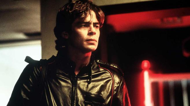 Benicio del Toro in jungen Jahren.