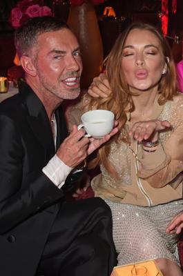 Lindsay Lohan macht Party.