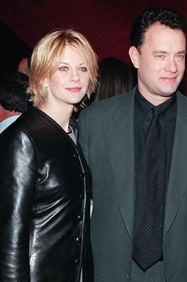 Meg Ryan zusammen mit Tom Hanks 1997.