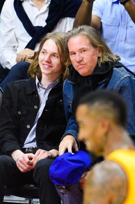 Val Kilmer mit seinem Sohn.