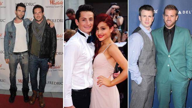 Adam Levine Ariana Grande Chris Evans