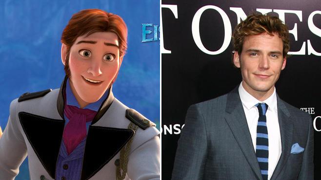 Hans, Frozen, Sam Claflin