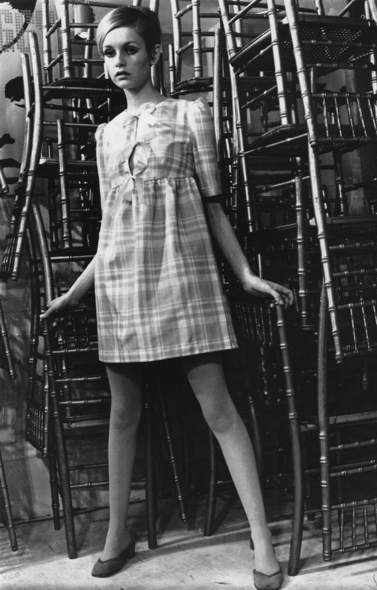 Auch 60er Jahre Ikone Twiggy war nur 1,72m groß.