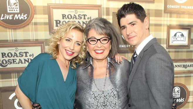 Roseanne Barr, Michael Fishman, Alicia Goranson