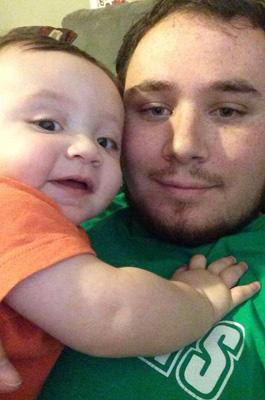 Jason und sein Baby