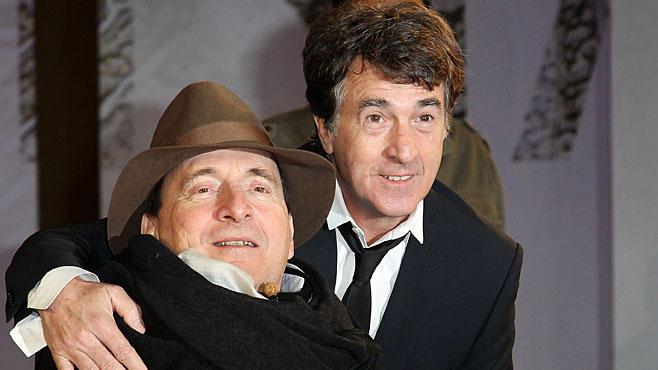 Philippe Pozzo di Borgo mit Schauspieler François Cluzet