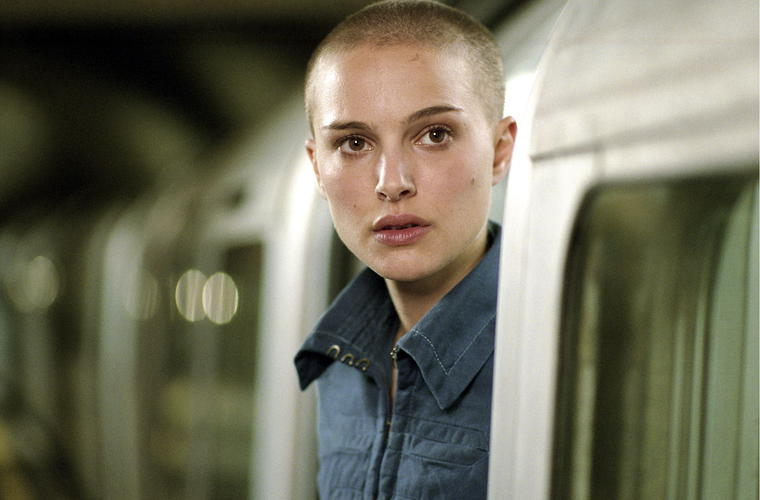 Natalie Portman Glatze