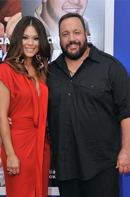 Kevin James und Ehefrau