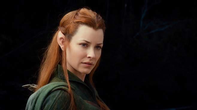 """Evangeline Lilly in """"Der Hobbit"""""""