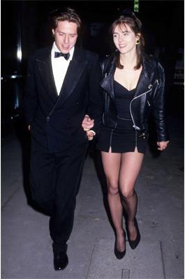 Liz Hurley und Hugh Grant