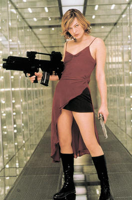 Milla Jovovich In Resident Evil Fkk Queens 9 Sexy Hollywoodstars In
