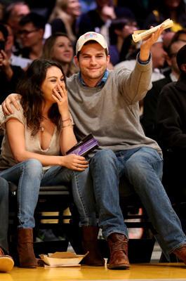 Mila Kunis und Ashton Kutscher