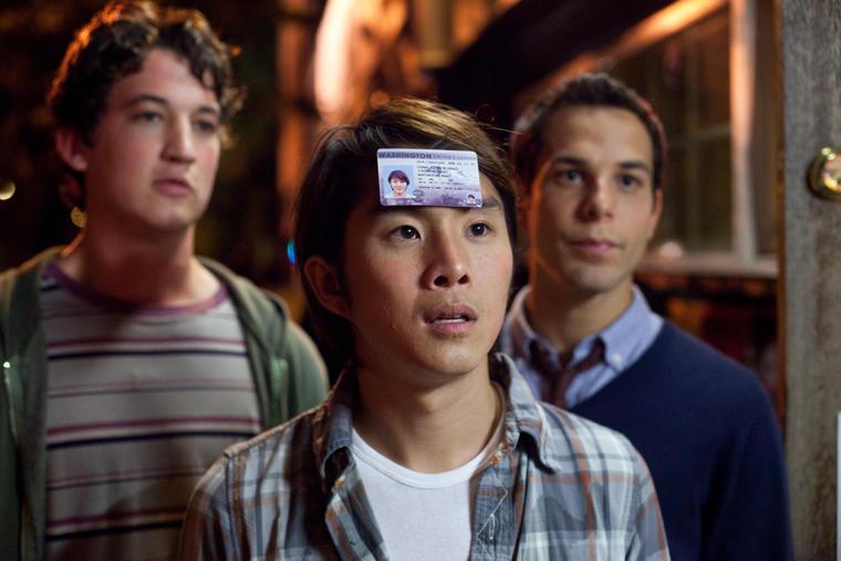 Miles Teller, Justin Chon und Skylar Astin in 21 & Over