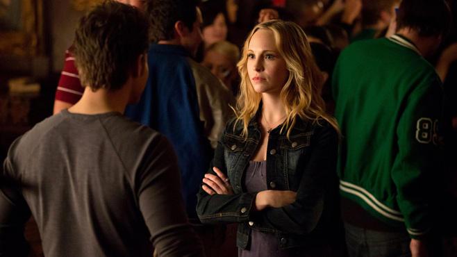 Caroline Forbes, Stefan Salvatore, Vampire Diaries
