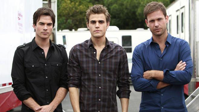 Damon Salvatore, Stefan Salvatore, Alaric, Vampire Diaries
