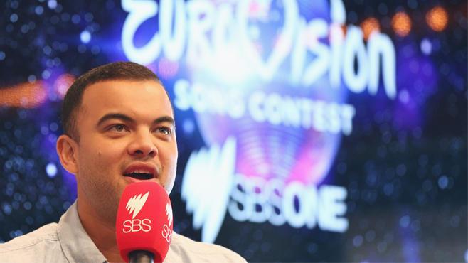 Guy Sebastian für Australien beim ESC