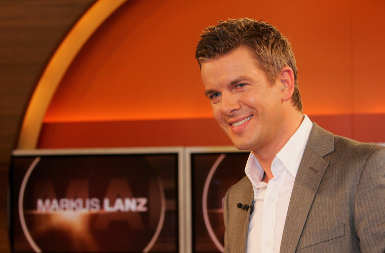 """Markus Lanz moderiert seit 2008 seine Talkshow """"Markus Lanz""""."""