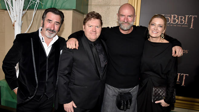 William Kircher Stephen Hunter Graham McTavish