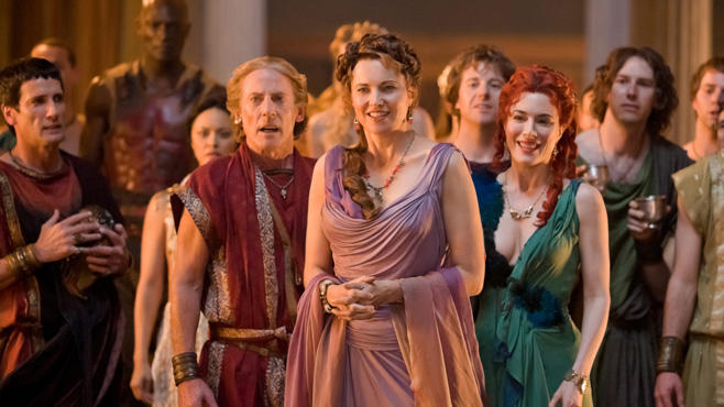 Lucy Lawless, Spartacus