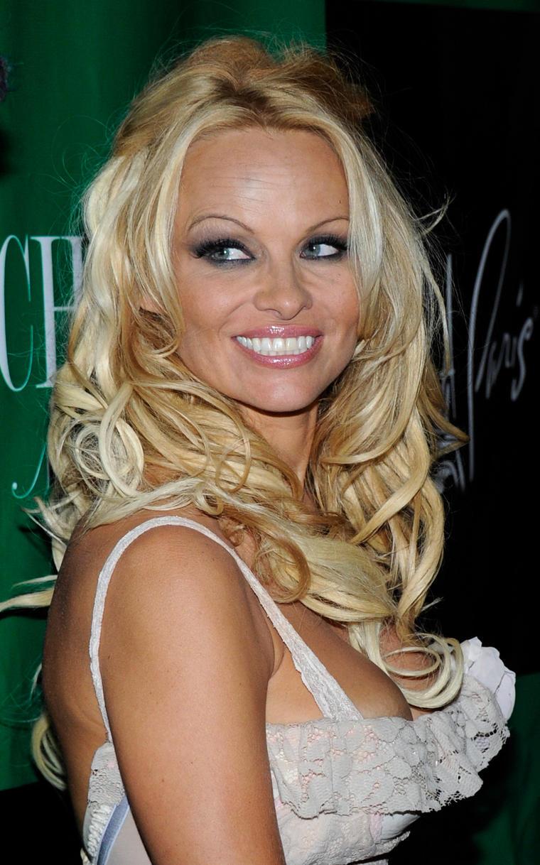 ...ja, genau diese Pamela Anderson, der Traum aller Männer.