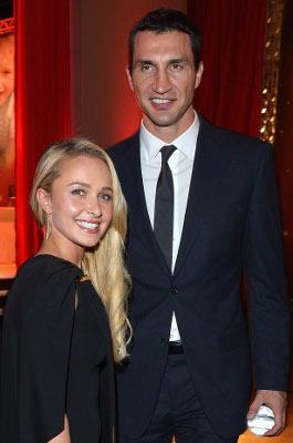 Wladimir Klitschko und Hayden Panettiere: 33 Zentimeter und 13 Jahre liegen zwischen dem Boxer und der Schauspielerin.