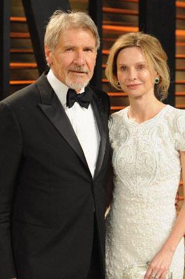 Calista Flokhart und Harrison Ford trennen 22 Jahre.