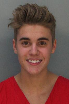 Justin Bieber verhaftet Mugshot