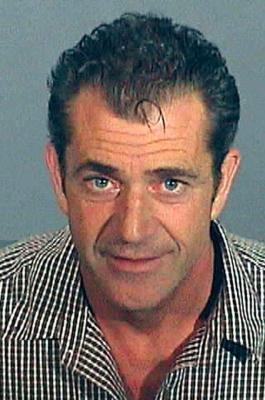 Mel gibson im Gefängnis Mugshot