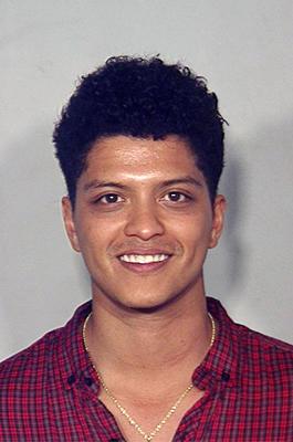 Mugshot Bruno Mars im Gefängnis Jail