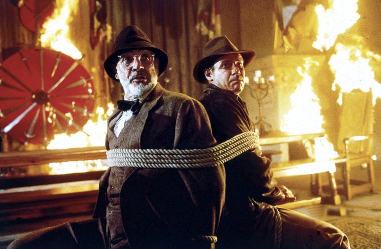 """Platz 22: 188 Fehler haben findige Filmfreaks in """"Indiana Jones und der letzte K"""