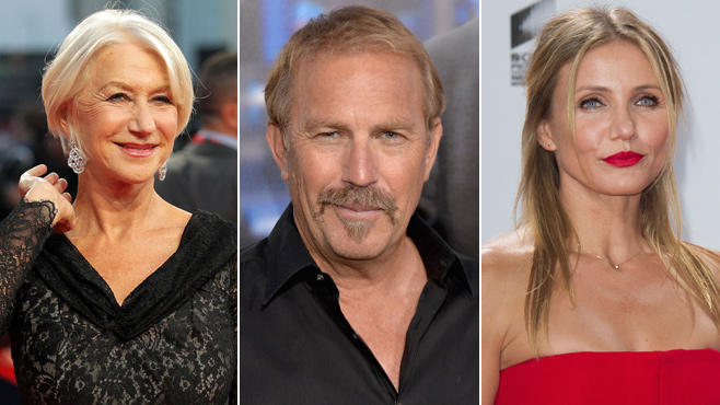 Helen Mirren, Kevin Costner, Cameron Diaz